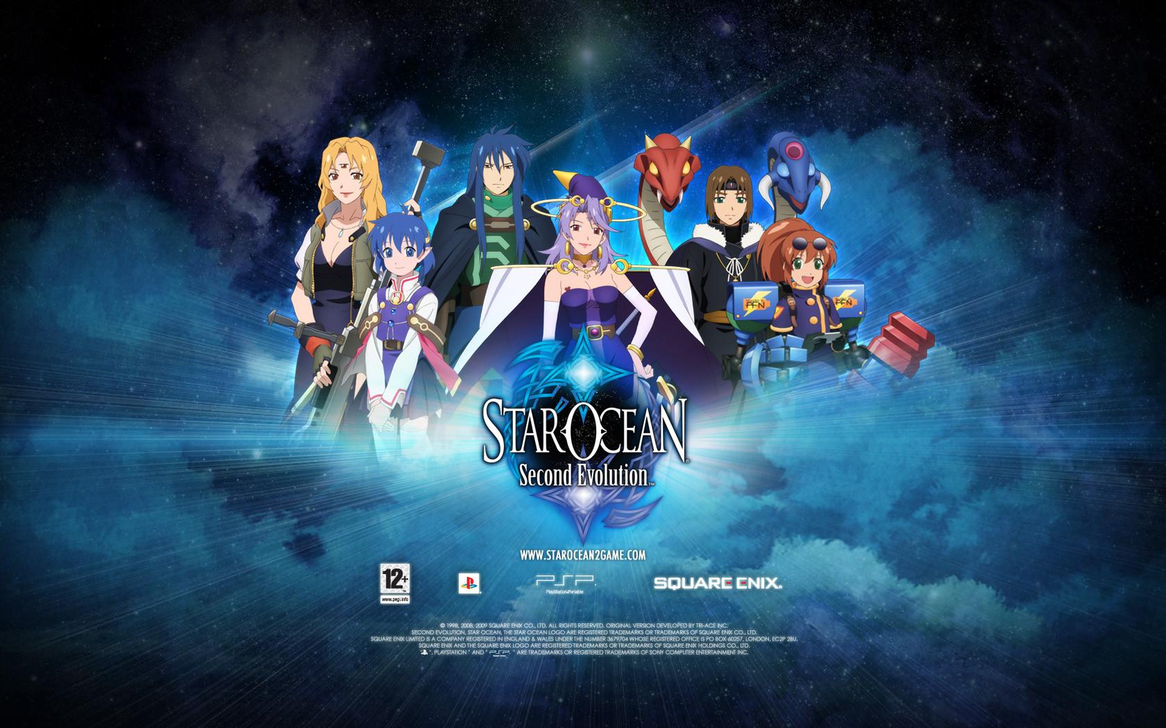 Second Evolution PC - Star Ocean Universe